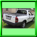 Tonneau cover for OPEL CORSA old shape bakkie.   The tonneau covers comes complete