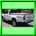 RIPSTOP FABRIC Tonneau covers can also be built