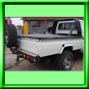 Tonneau cover for LANDCRUISER