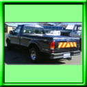 Tonneau cover for FORD F250 bakkie