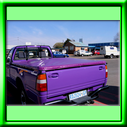 Colour tonneau cover made from PVC