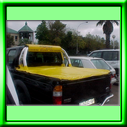 YELLOW TONNEAU COVER MANUFACTURED FROM PVC