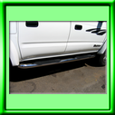 TOYOTA STAINLESS STEEL SIDE STEPS
