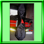 Boat Motor Cover - Manufac tured from full lined RIPSTOP fabric with a ZIP for easy fastening
